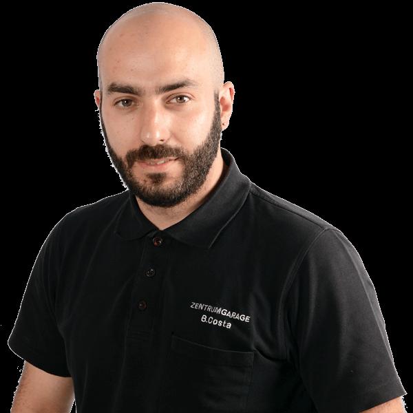 Zentrum-Garage Düdingen Bruno da Costa_Mitglied Geschäftsleitung_Leiter Pannendienst