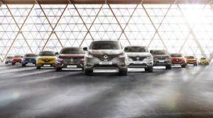 Renault Modelpalette