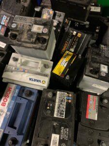 Foto Fahrzeugbatterien